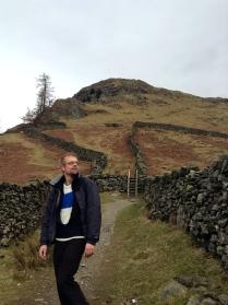 Ben on Rydal Mount
